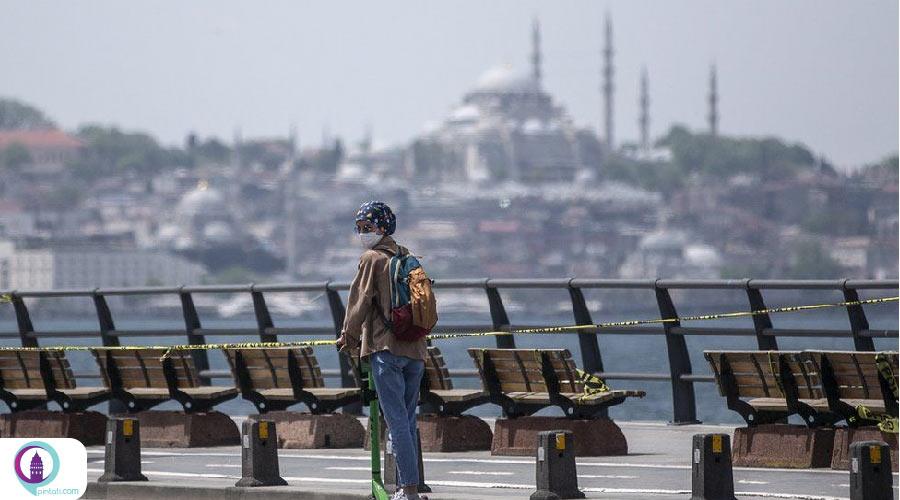 بازدید گردشگران از ترکیه
