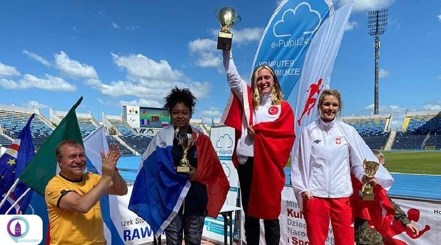 قهرمانی تیم ملی پارادوومیدانی زنان ترکیه