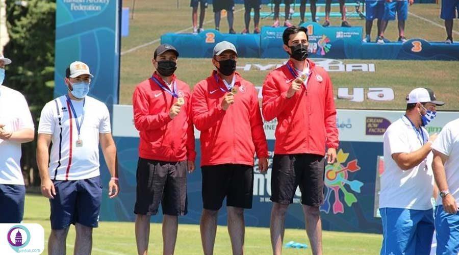 قهرمانی اروپا، تیم ملی مردان تیراندازی با کمان مرکب ترکیه