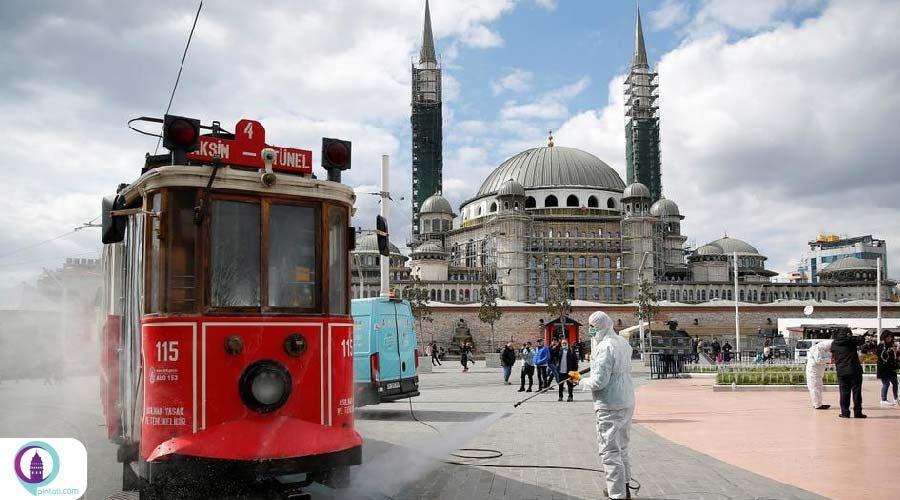 شیب نزولی کرونا در ترکیه