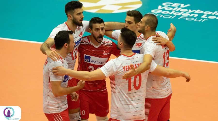 تیم ملی والیبال مردان ترکیه قهرمان اروپا شد