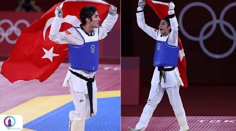 تکواندوکار ترکیه مدال برنز المپیک توکیو را کسب کرد