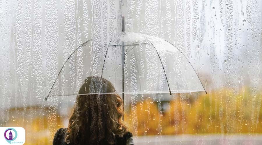 بارندگی در مناطق