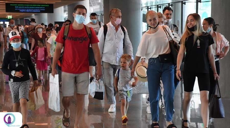 ورود بیش از 307 هزار گردشگر از روسیه به آنتالیا در دو هفته اخیر