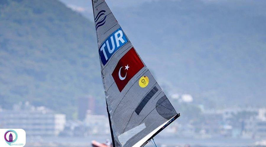 المپیک توکیو؛ قایقرانی بادی ترکیه دهم شد