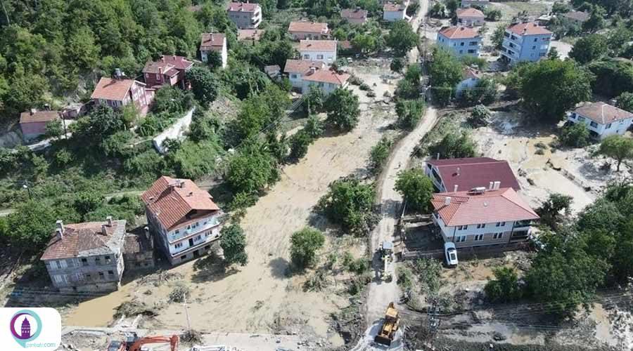 شمار جان باختگان سیل در ترکیه به 51 نفر رسید