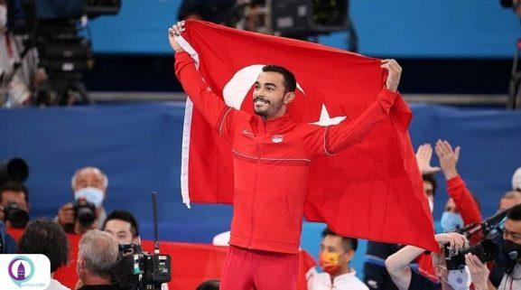 ملیپوش ترکیه در رقابتهای ژیمناستیک