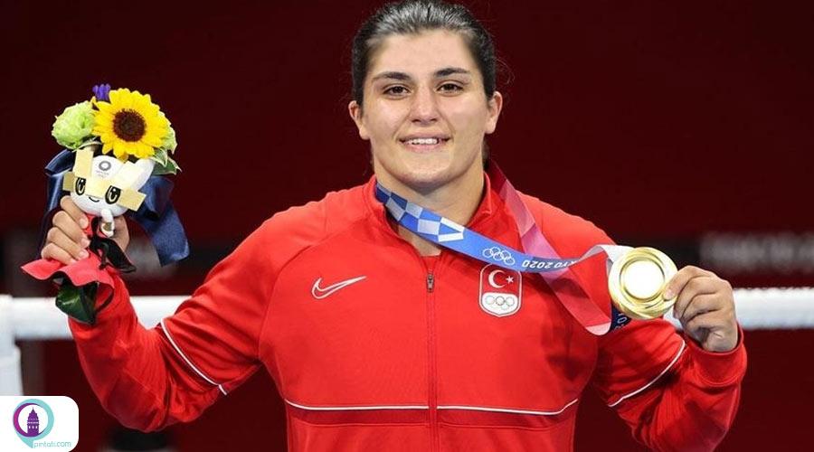 قهرمان المپیک ترکیه