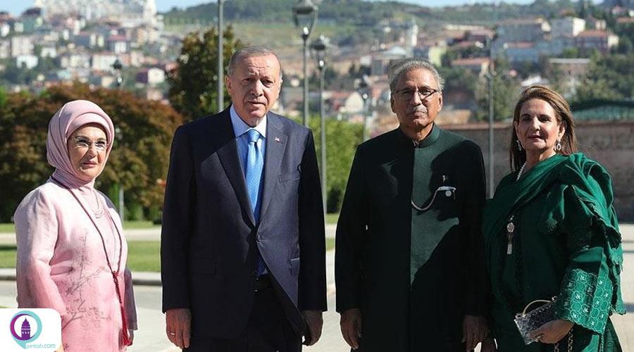 دیدار سران ترکیه و پاکستان در استانبول