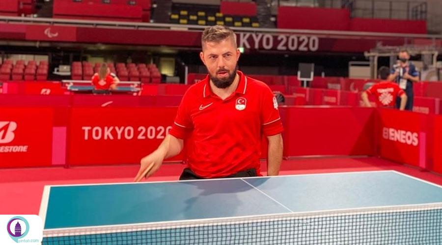 ینگ پنگ بازان ترکیه در پارالمپیک 2020