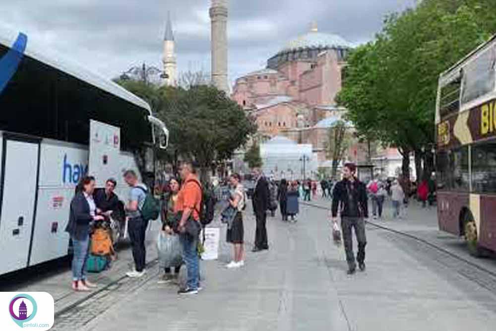 اتوبوس فرودگاه استانبول پندیک ۱۱