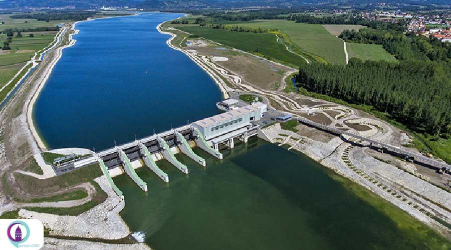 نیروگاه تولید برق آبی