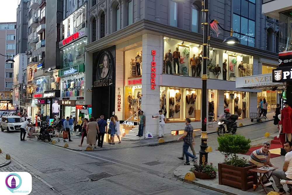 لالهلی بازار عمده فروشی پوشاک