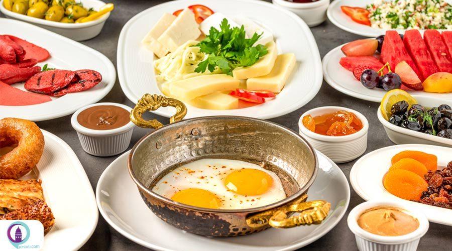 صبحانه ترکی یک تجربه خوردنی!!